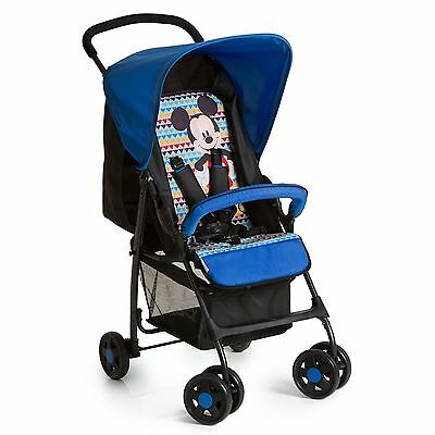 Hauck Disney Sportwagen Buggy Sport Mickey Geo Blue TOP