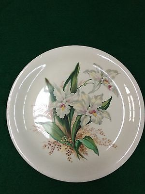 Orchid Plate Made By Grindley