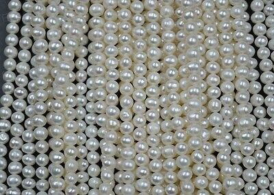 wholesale 12 strands 5-5.5mm genuine freshwater pearl