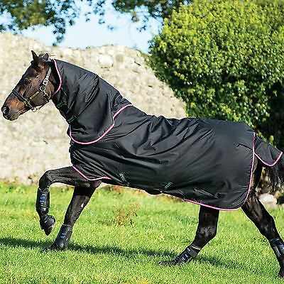 Horseware Ireland Amigo Hero 6 Plus 200G Detachable Neck 600D Medium Turnout Rug