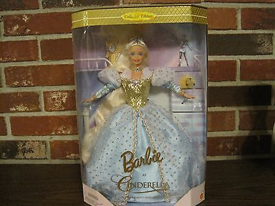 1996 Barbie As Cinderella--The Fairy Tale Beauty Who Lost Her Slipper--New