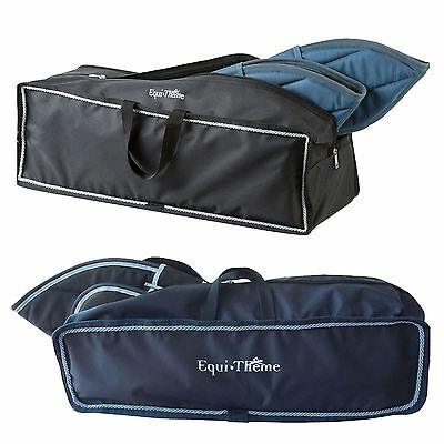 Equi Theme Travel Boot Bag - Carry Case For Protection While Shipping