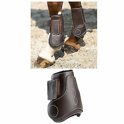 Eric Thomas Synthetic Fetlock Boots For Young Horses Brown
