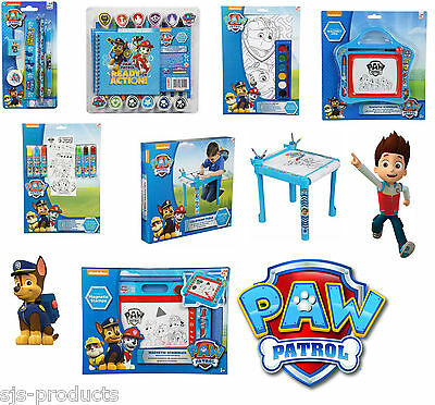 Paw Patrol Kids Art Drawing Colouring Sets Table Magnetic Etch a Sketch Gift UK