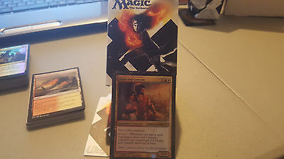 magic the gathering commander deck Red + White (soldiers) plus deckbox