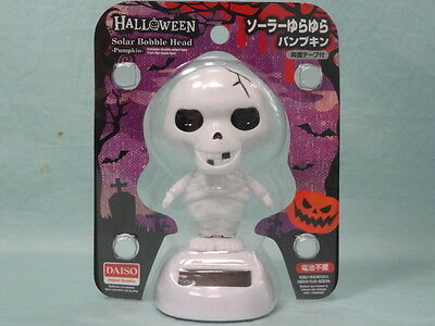 Daiso-Japan-Solor-Powered-Swinging-Bobblehead-Toy-Figure F/S!!