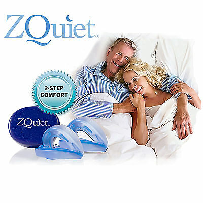 ZQuiet Anti Snore Mouthpiece THE ALL-NEW 2 STEP COMFORT SYSTEM OFFICIAL PRODUCT