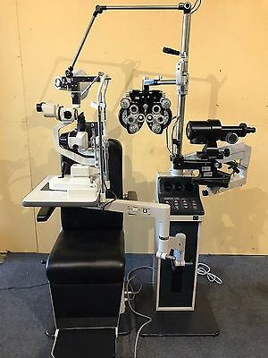 Burton chair and stand Topcon Slit Lamp Topcon Phoropter Lane Package