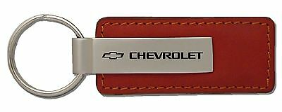 Chevrolet Leather Key Chain KC1541.CHV Fob By Automative Gold