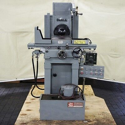 "DOALL 1 HP 6"" x 12"" Surface Grinder Model DH612"