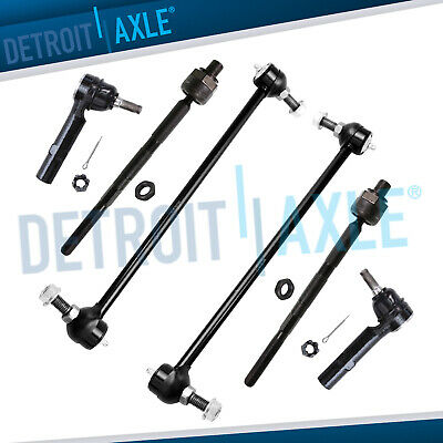 Brand New 6pc Complete Front Suspension Kit for Chevrolet Traverse