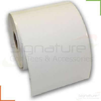 "Thermal Labels Roll 150mm x 100mm White 6"" x 4"" Royal Mail, Hermes Zebra Printer"