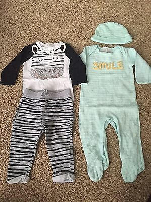 Lot Of Two Koala Kids Outfit & Sleeper - 9 Months