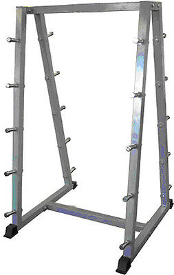 Barbell Storage Rack / Stand for 10 Fixed Barbells