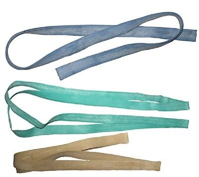"Lot Of 12Pcs Heavy Duty Moving Rubber Bands Tan 50"" Green 60"" Blue 72"""