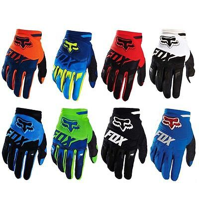 FOX DIRTPAW Full Finger Gloves Motorbike Offroad Cycling Racing MTB 8 Colours