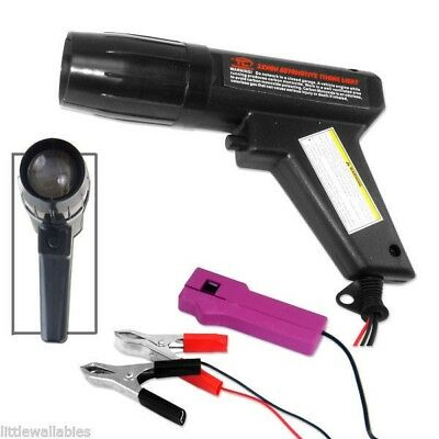 New Xenon Inductive Ignition Timing Light Gun Engine Tester Tool