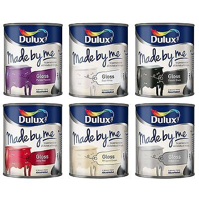 DULUX MADE BY ME GLOSS FINISH SPECIAL EFFECT FOR ARTS DECORATIONS & CRAFTS 750ml