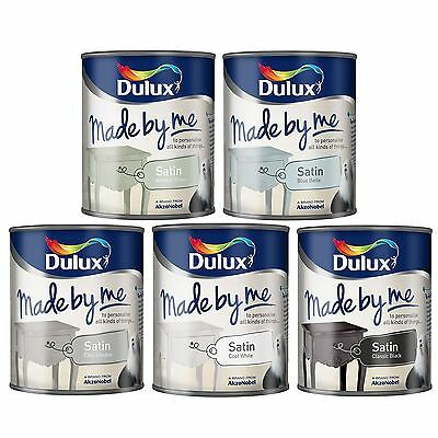 DULUX MADE BY ME SATIN FINISH SPECIAL EFFECT FOR DECORATIONS & ARTS CRAFTS 750ml
