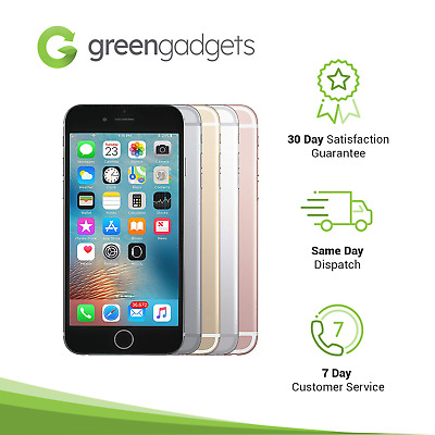Apple iPhone 6S Space Grey Gold Silver Rose Gold 16 64 128 GB Smartphone As New