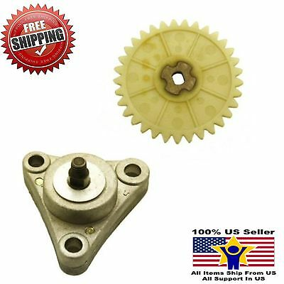 GY6 50cc 139QMB 139QMA oil pump assy with sprocket for Chinese gas scooter moped