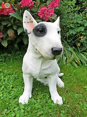 English Bull Terrier For Home & Garden. Ultra Realistic & Large. Vivid Arts