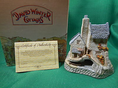 David Winter Cottage Tamar Cottage  West Country Collection