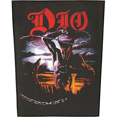 Dio Men's Holy Diver Back Patch Black