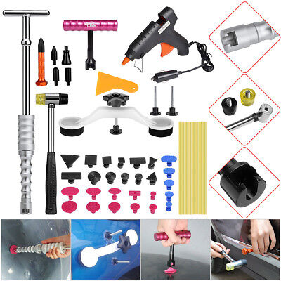 42× Paintless Hail Removal Dent Puller Lifter PDR Tools Glue Gun Body Repair Tap