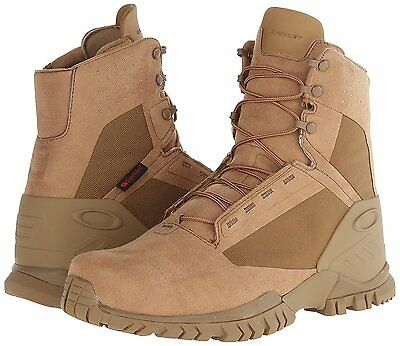 """Oakley Men's SI-6 Tactical Military Leather 6"""" Boots Coyote - (Sizes 10-14)"""