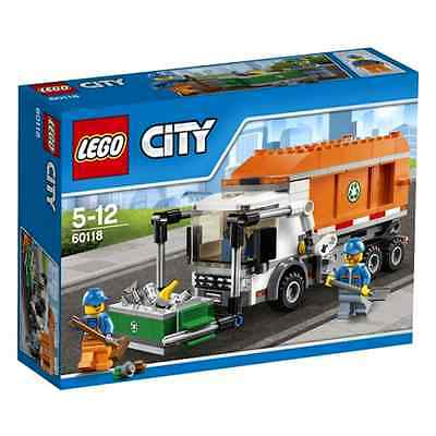 Construction Toys LEGO City Great Vehicles 60118 Garbage Truck Mixed 248 Pieces
