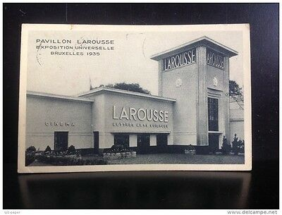 Pavillon Larousse Expedition Univrselle Bruxelles 1935