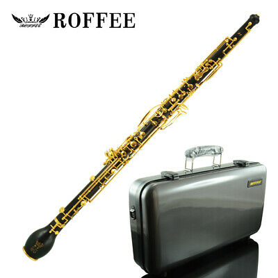 Roffee musical instrument Ebony Wood Silver Plated English horn