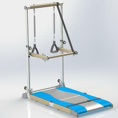 SUPREME PILATES PRO Barre Toning Tower, Yoga Pad, and Dvd's SPP389 New
