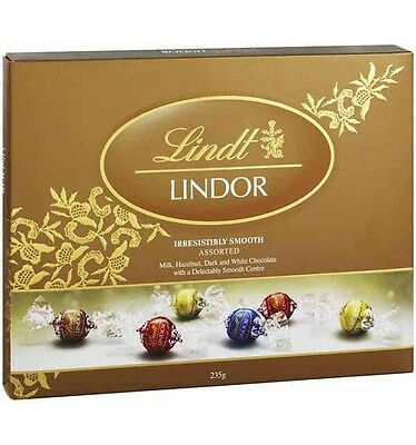 Lindt Lindor Assorted Ball Gift Box 235g