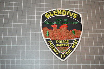Glendive Police Department Montana Patch (B11)
