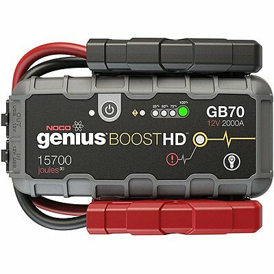 The Genius Boost Plus Ultra Safe 12 V Lithium Starting Aid Device, 2000 Amp