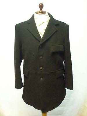 "*vintage R.h.mears Ltd- Pure New Wool Black Fox Hunting Jacket- 44""*"