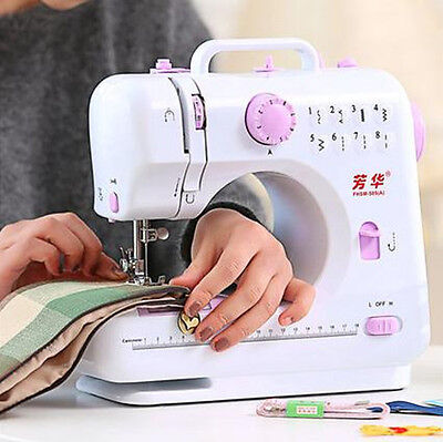Multifunction Electric Overlock Sewing Machine Household Sewing Tool 8 Stitches