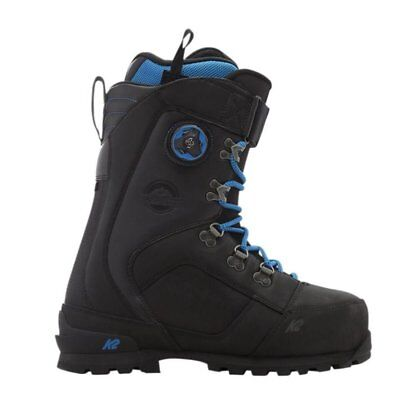 K2 Snowboard Aspect Black Scarponi Backcountry Fw 2017 New 42 43 44 45 Boots  Sp