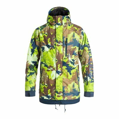 Dc Shoes Ripley Jacket Travel Goods Giacca Snowboard Fw 2017 New S M L Xl