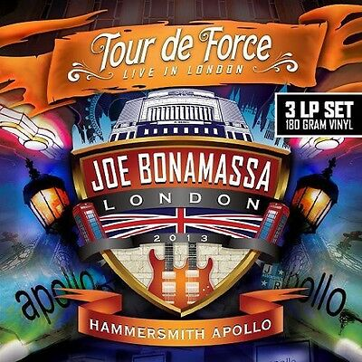 Tour De Force-Hammersmith Apollo - Joe Bonamassa (2014, Vinyl NEU)2 DISC SET