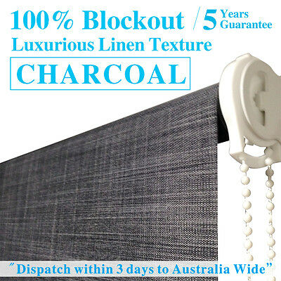 LUXURIOUS LINEN TEXTURED BLOCKOUT Roller Blinds