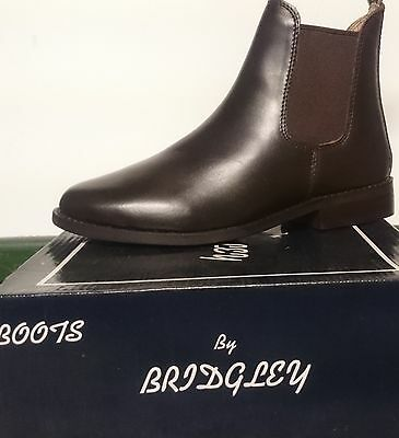 Top Quality Leather Jodhpur Riding Boots Only £9.50!! Brown Size Uk 3.5