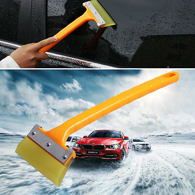 New Long Handle Car Snow Ice Shovel Scraper Glass Water Removal Clean Tool