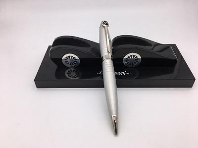 S.T. Dupont Brushed Palladium Streamline Ballpoint Pen M# 255574