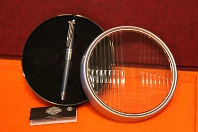 NEW 2001 Waterman Harley Davidson Combustion Metallic Blue Fountain Pen