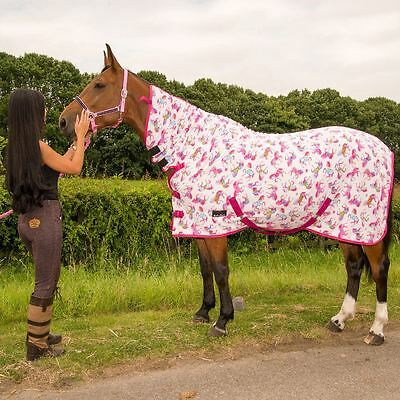 Best on Horse Print Rug Pink Horse