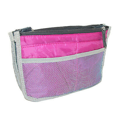 New CTM Women's Mesh Handbag Briefcase Organizer