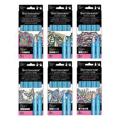 Spectrum Noir Recreation Colouring Art Colorista 6 Pc Colourist's Marker Sets